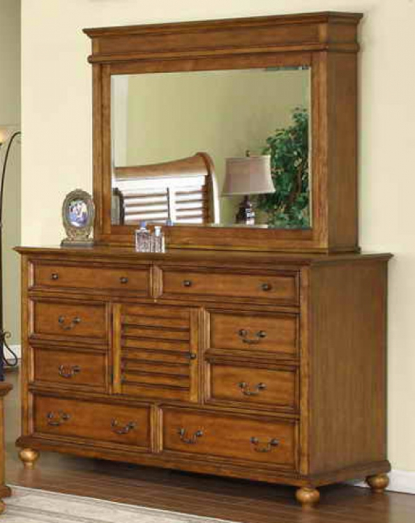 Lighthouse Dresser with Mirror