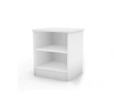 Smart Basics Pure White Night Stand - South Shore