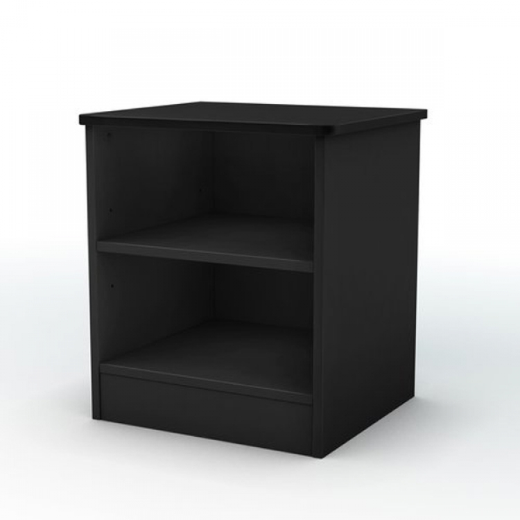 Smart Basics Solid Black Night Stand
