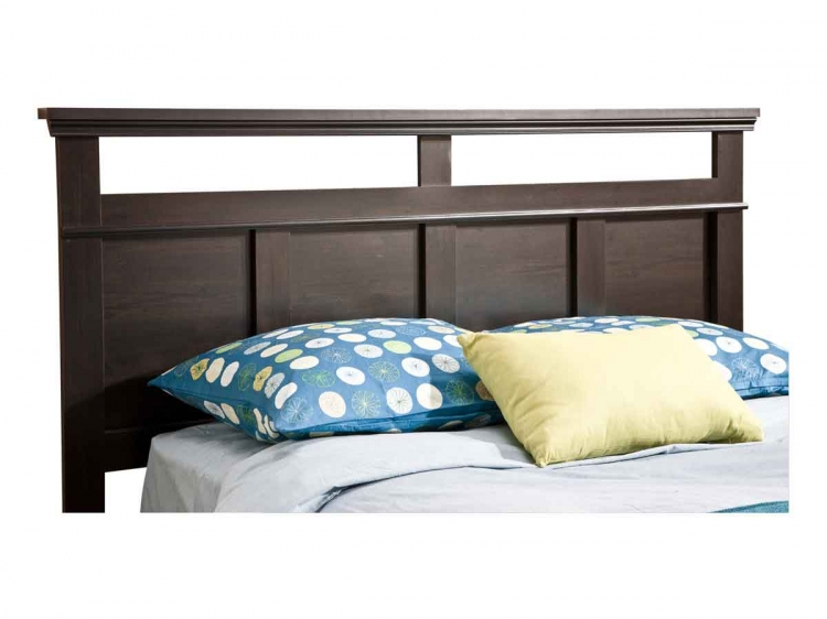 Versa EbonyQueen/Full Headboard - South Shore