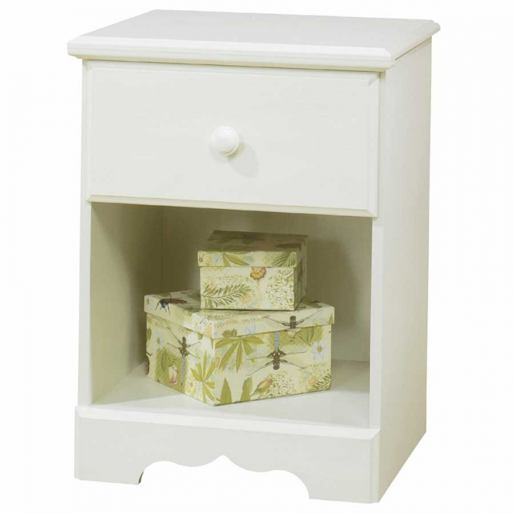 Summer Breeze Vanilla Cream Night Stand - South Shore
