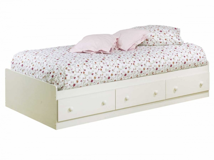 Summer Breeze Vanilla Cream Mates Bed - South Shore