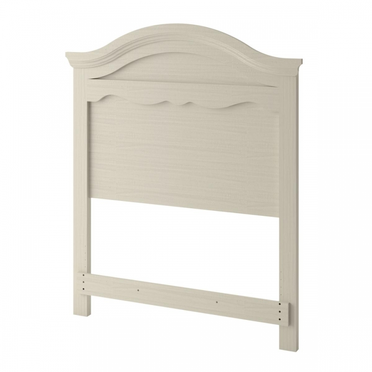 Summer Breeze Twin Headboard - White wash