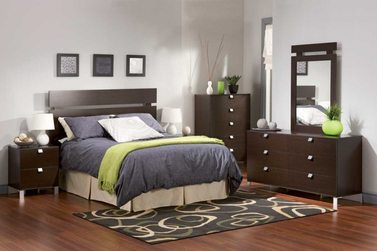 Cakao Chocolate Kids Bedroom Collection - South Shore