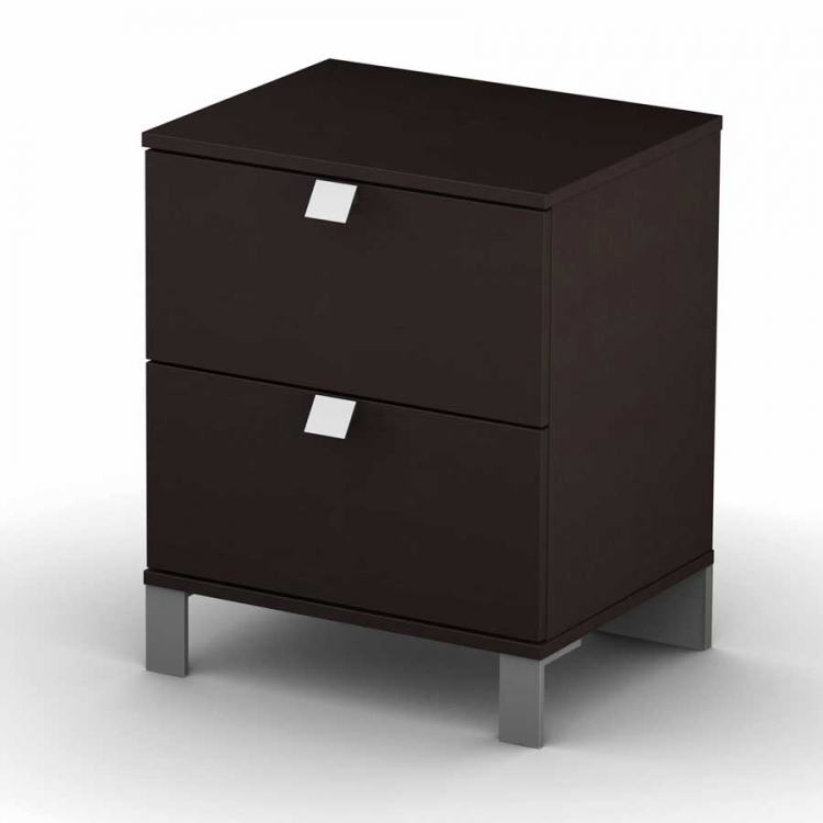 Cakao Chocolate Night Stand - South Shore
