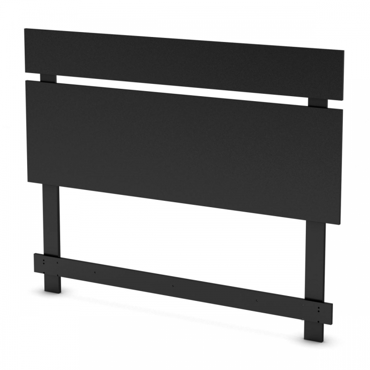 Spark Full - Queen Headboard - Pure Black