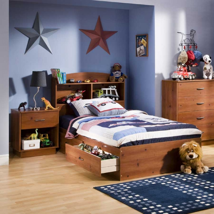 Logik Sunny Pine Kids Bedroom Collection - South Shore