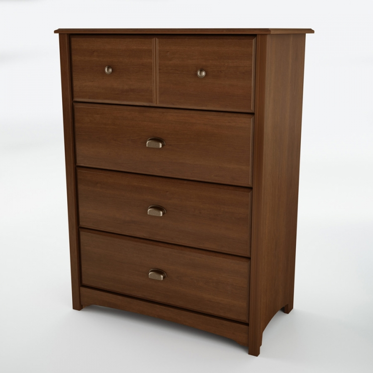 Willow Sumptuous Cherry 4 Drawer Chest - South Shore