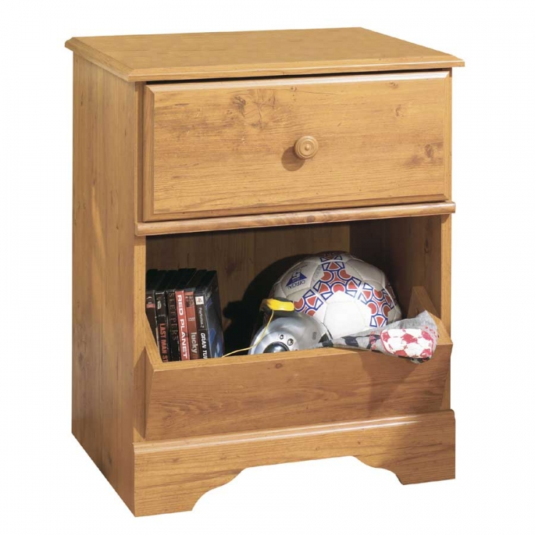 Little Treasures Country Pine Night Stand - South Shore