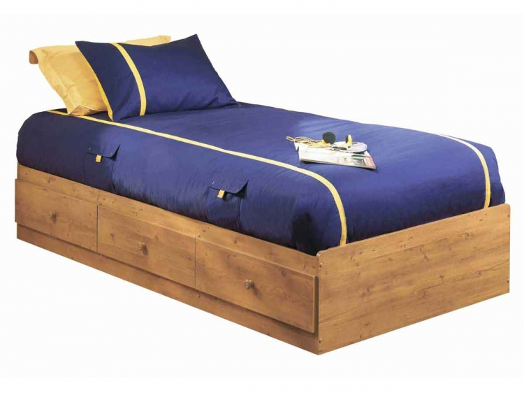 Little Treasures Country Pine Twin Mates Bed