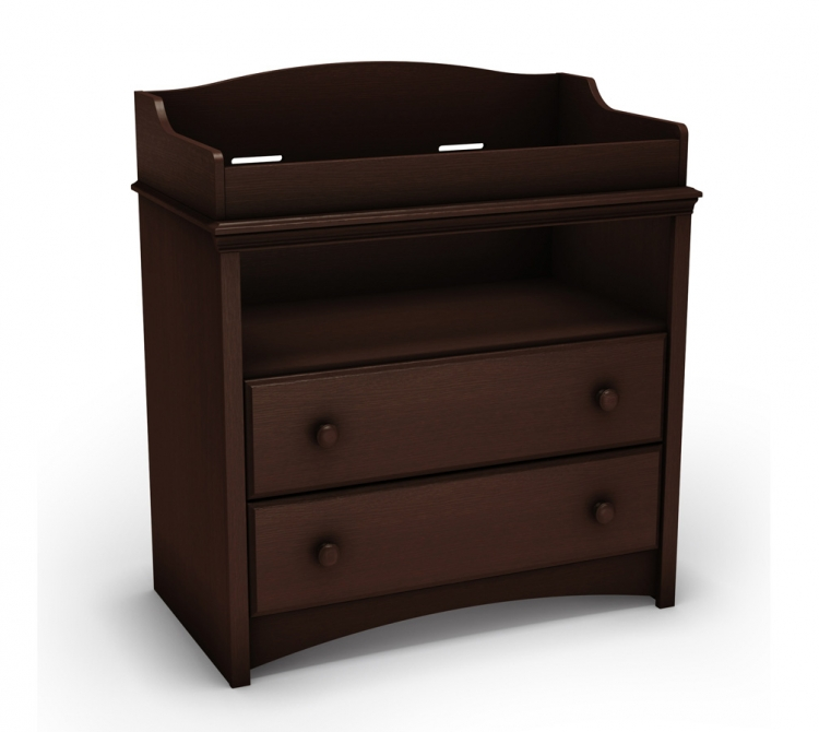 Angel Chocolate Changing Table - South Shore
