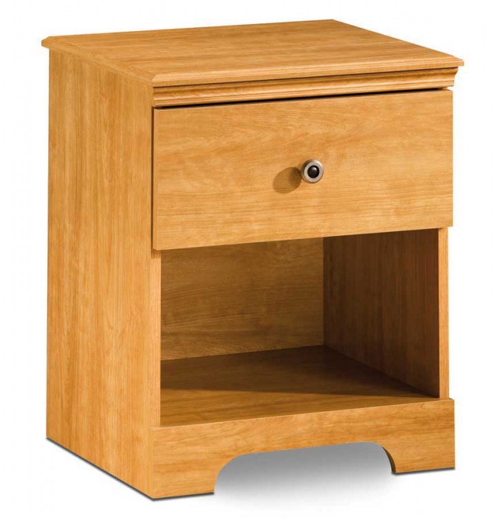 Zach Florence Maple Night Stand - South Shore