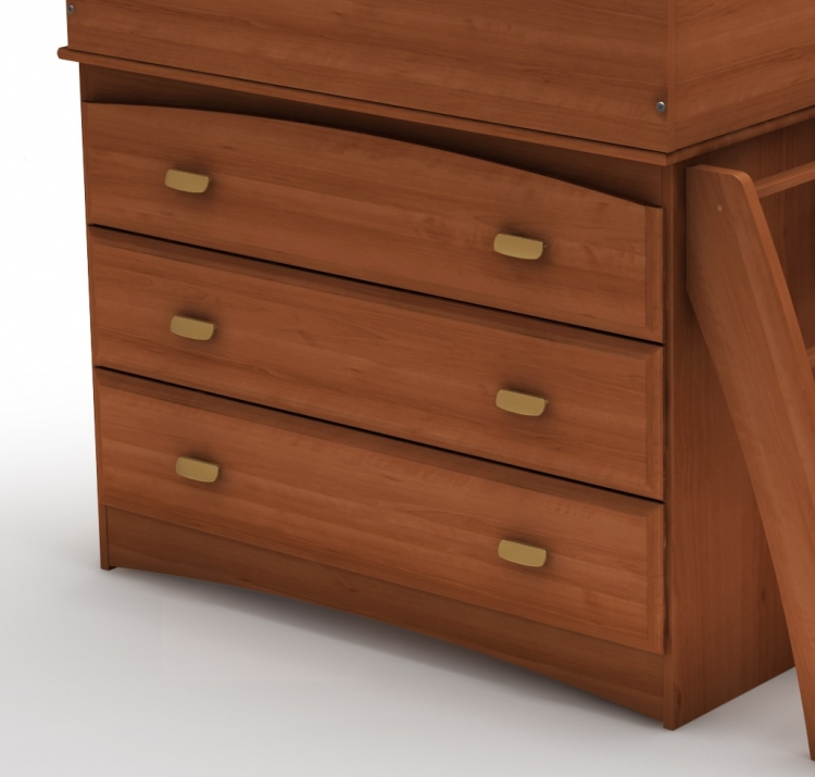 Imagine Morgan Cherry 3 Drawer Chest
