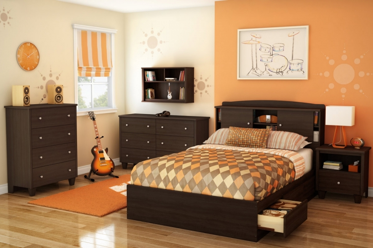 Clever Room Bedroom Set - Mocha - South Shore