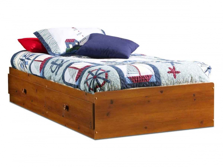 Sand Castle Sunny Pine Twin Mates Bed