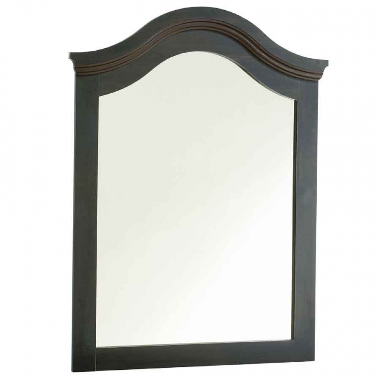 Mountain Lodge Ebony Mirror - South Shore