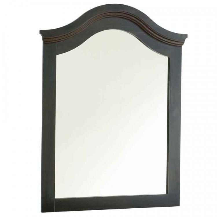 Mountain Lodge Ebony Mirror