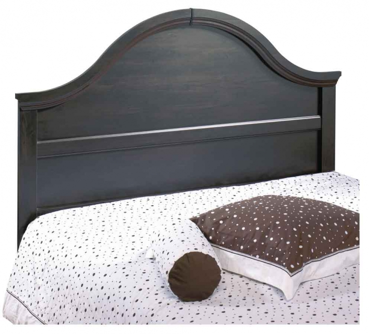 Mountain Lodge Ebony Queen/Full Stately Headboard - South Shore