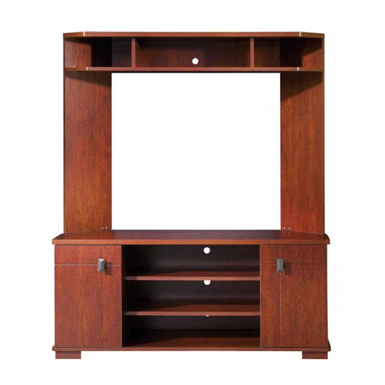 Vertex Classic Cherry TV Stand Corner - South Shore