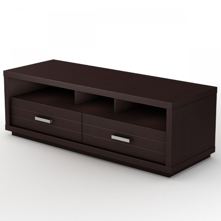 Skyline TV Stand - Chocolate