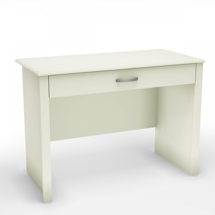 Work ID Secretary Desk - Pure White - South Shore