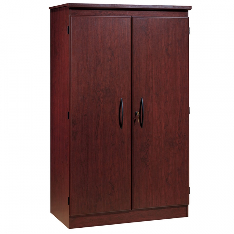 Morgan Royal Cherry Armoire Storage Cabinet