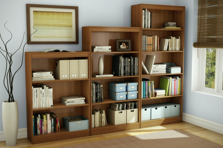 Bookcase Set - Morgan Cherry - South Shore