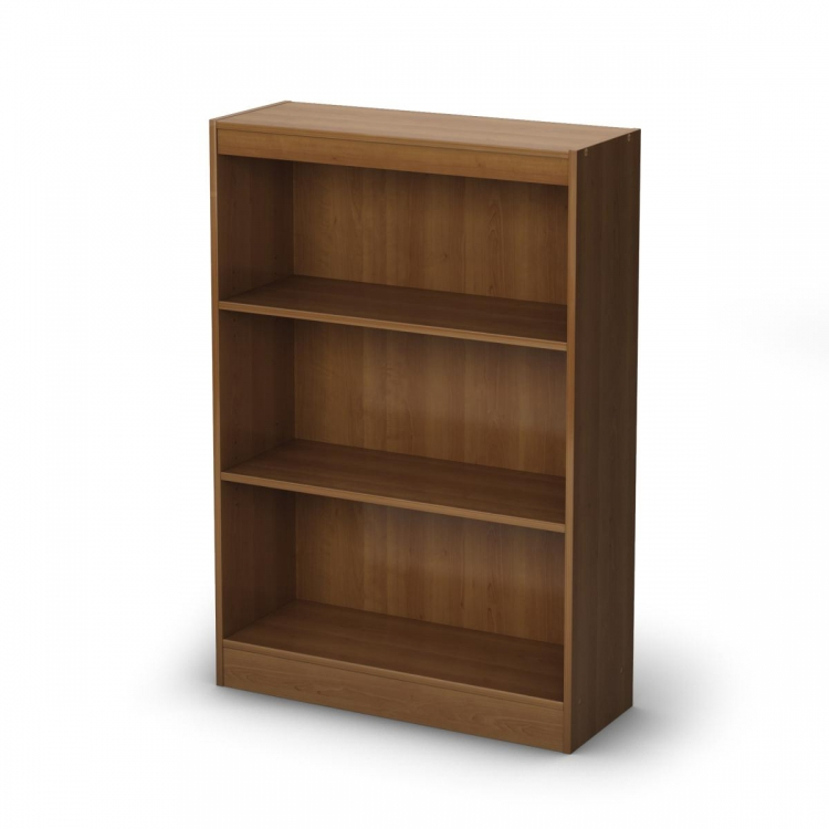3-Shelf Bookcase - Morgan Cherry - South Shore