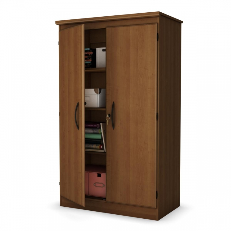 Storage Cabinet Morgan cherry - South Shore