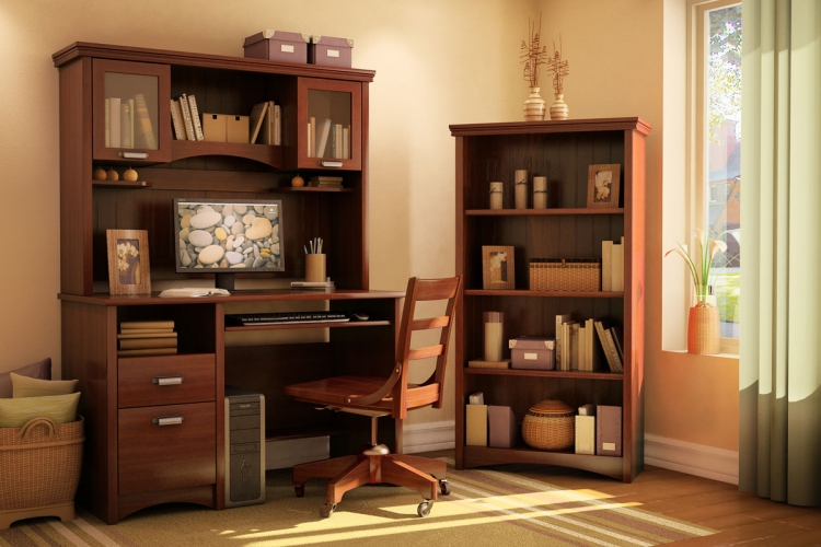 Gascony Sumptuous Cherry Home Office Collection - South Shore