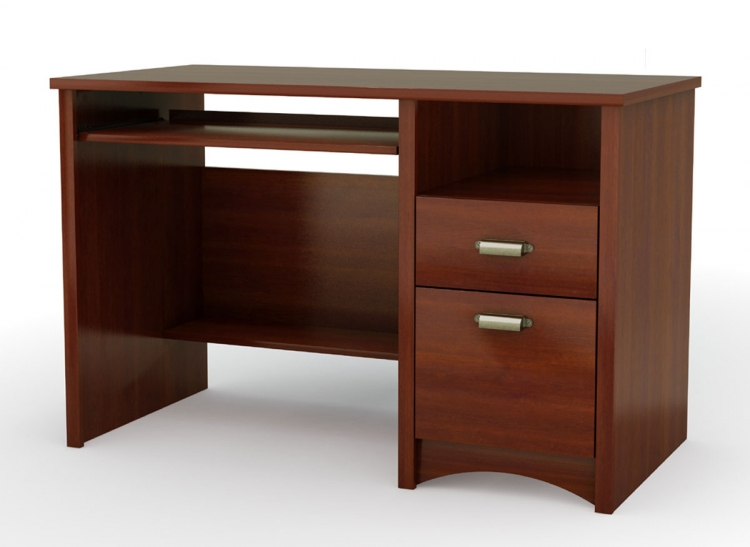 Gascony Sumptuous Cherry Computer Desk - South Shore
