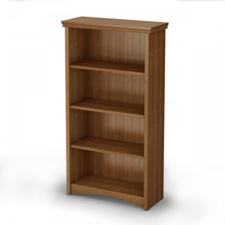 Gascony 4-Shelf Bookcase - Morgan cherry - South Shore