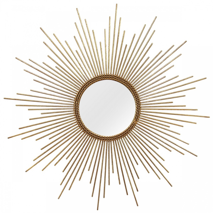 Andrea Wall Mirror - Gold