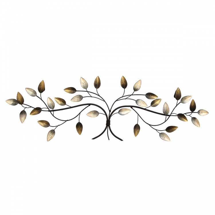 Over the Door Blowing Leaves Wall Decor - Multi