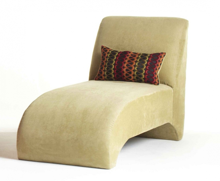 Hippy Chaise with pillow - Lotus - Serta Upholstery