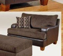 Annabelle Chair - Chocolate - Serta Upholstery