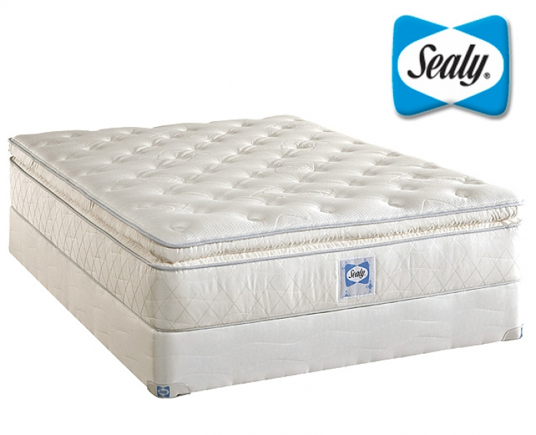 Sealy Plush Euro Pillow Top Innerspring Mattress