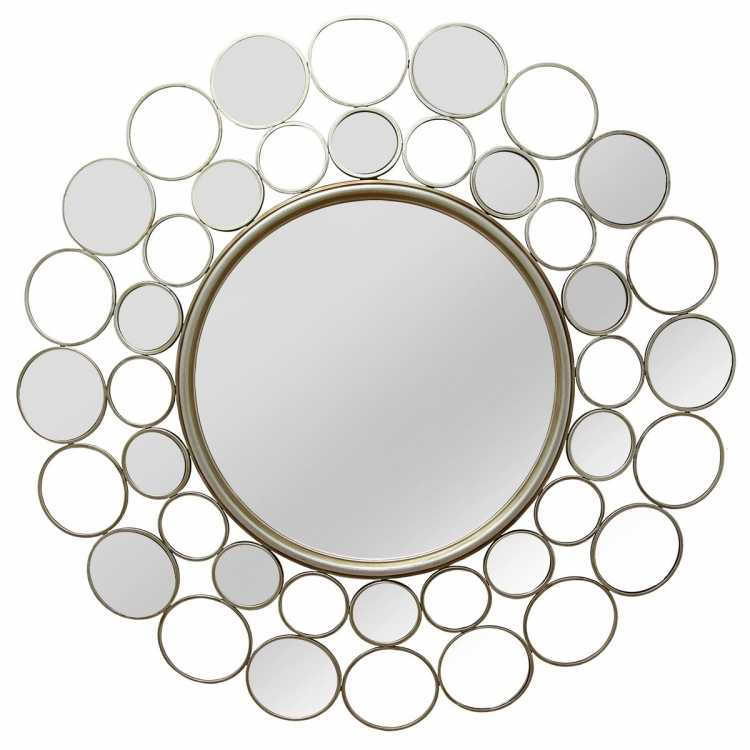 Kimberly Wall Mirror - Champagne