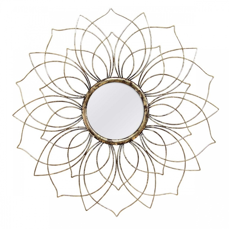 Anais Wall Mirror - Bronze
