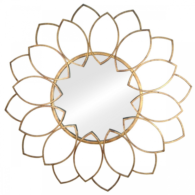 Alexandra Wall Mirror - Gold