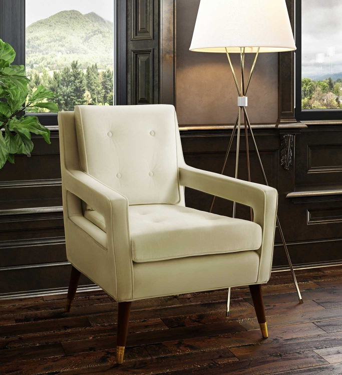 Draper Chair - Cream