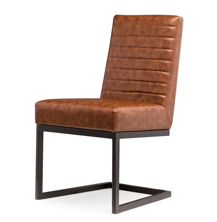 Austin Chair - Brown/Black - Set of 2