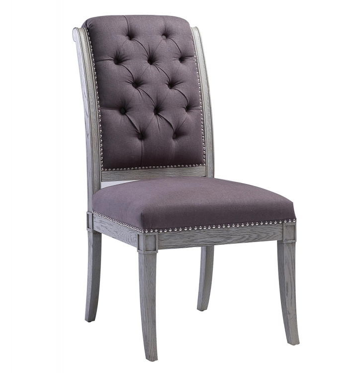Addington Grey Chair - Grey - Set of 2