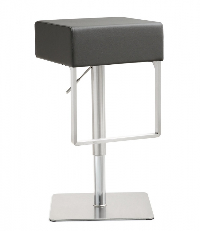 Seville Grey Stainless Steel Barstool