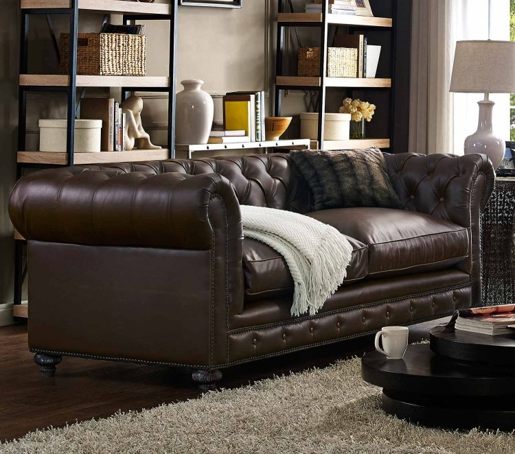 Durango Leather Sofa - Antique Brown
