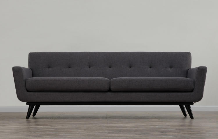 James Grey Linen Sofa