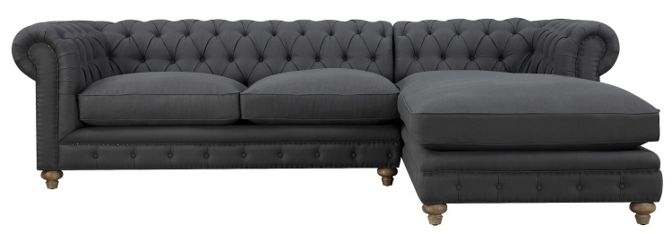 Oxford Grey Linen RAF Sectional
