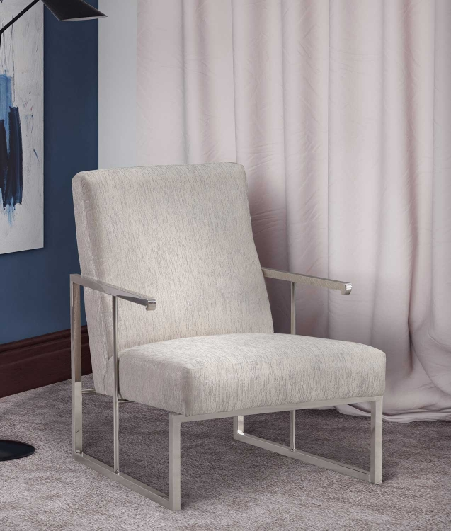 Liv Metallic Chair - Grey