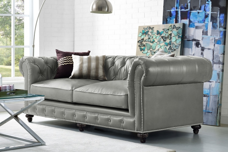 Tov Furniture Durango Rustic Grey Living Room Set S98 C53