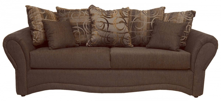 Jasmine Sofa Set - Pumped Godiva - Triad Upholstery